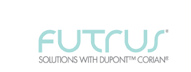 » Futrus Launches New Products with Integrated TechnologyFutrus® Solutions with DuPont™ Corian®